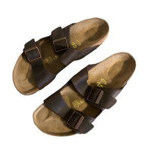 🆕 Birkenstock Leather Sandals - Men's Size 43